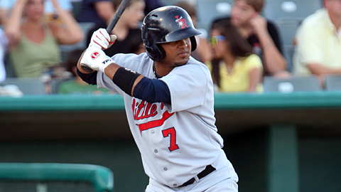 Luis Jimenez had two homers, four RBIs and four runs in the clincher.