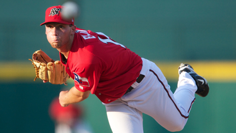 Robbie Erlin fanned five or fewer in four of his first five Double-A starts.
