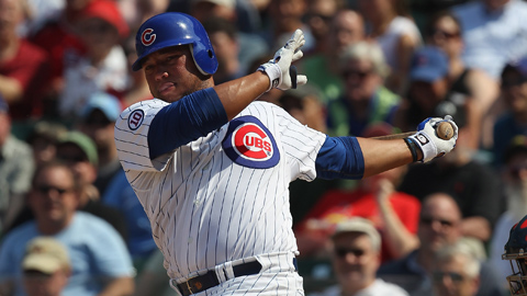 Welington Castillo is hitting .318/.378/.628 for the Iowa Cubs.