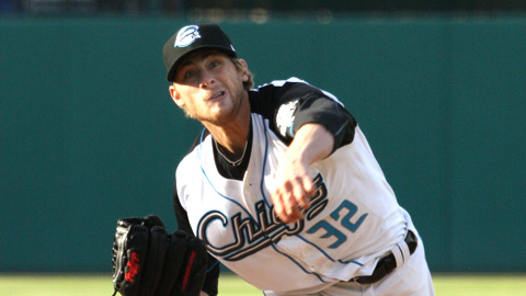 Ross Detwiler allowed one earned run in the Chiefs' 9-2 win over Rochester on Sunday night.