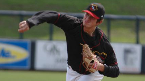 Zach Russell went a season-high 6.1 innings allowing one run on six hits while striking out six.