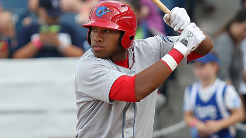 Jonathan Singleton socked three home runs for Clearwater this week.