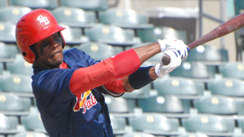 Rainel Rosario hit a three-run homer to lead the Cardinals to a 5-1 game one win