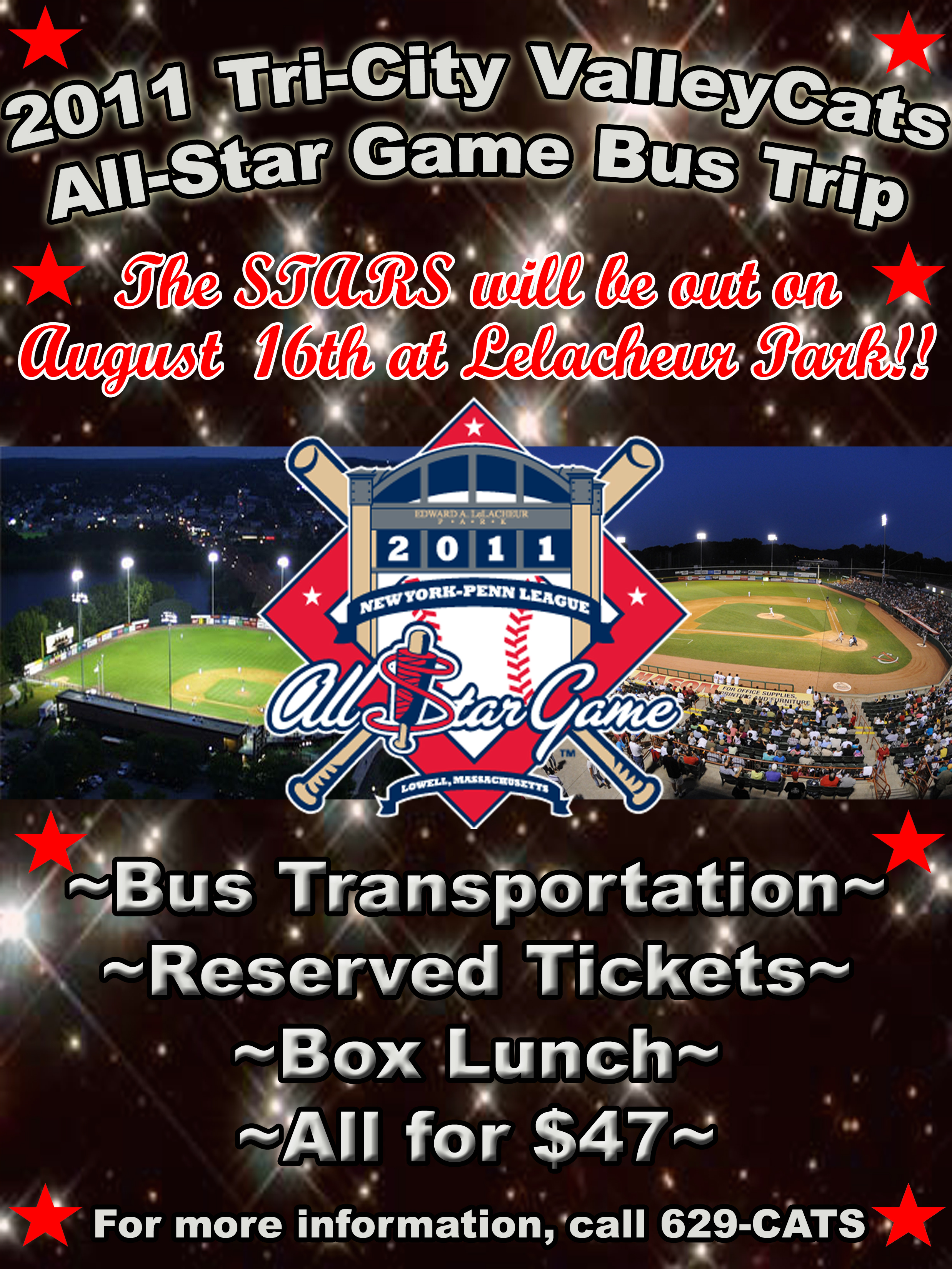 Bus Trips TriCity ValleyCats Schedule - Map of new york penn league teams