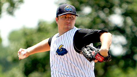 Phil Hughes pitched into the seventh inning in his second start in Trenton.