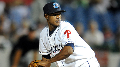Righty Lisalberto Bonilla lowered his ERA to 1.49 on Wednesday.