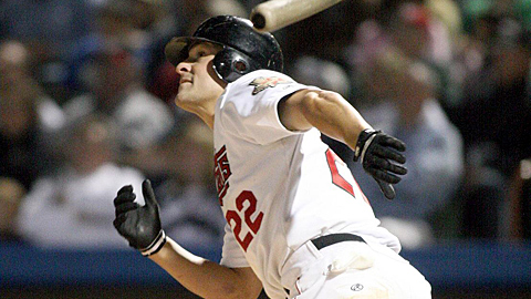 David Flores' last multi-homer game was for the ValleyCats on July 12, 2008.