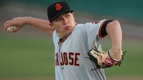 Craig Westcott's 2.91 ERA ranks second in the California League.