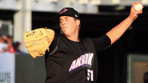 Drew Pomeranz led the Carolina League with a 1.87 ERA in 15 starts.