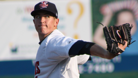 Tim Shibuya recorded his Appalachian League-leading fourth win in five starts.