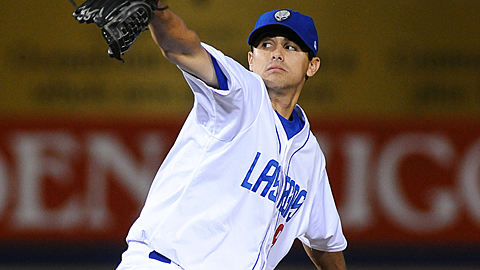 Brad Mills ranks third in the Pacific Coast League with a 3.71 ERA in 19 starts.