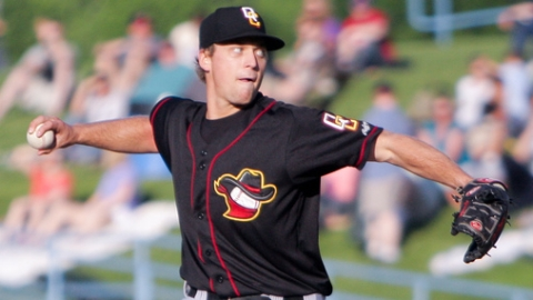 Trevor Rosenthal ranks fourth in the Midwest League with 102 strikeouts.