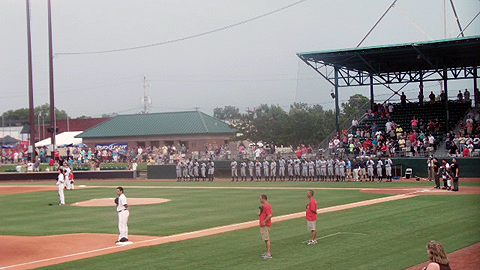 Grainger Stadium has been the home of Kinston's baseball teams since 1949.