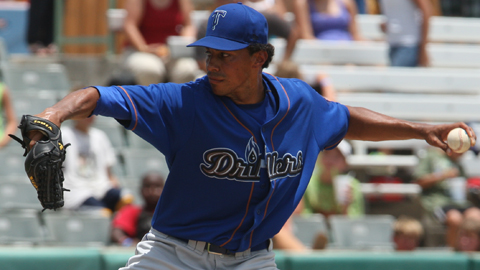 Texas League All-Star Joe Torres is 3-1 with a 2.58 ERA for Tulsa.