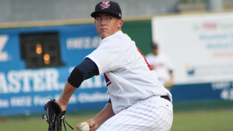 Tim Shibuya is 5-1 with a 3.05 ERA in seven starts for the E-Twins.