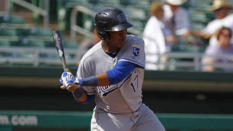 Salvador Perez has driven in 20 runs in his last seven games.