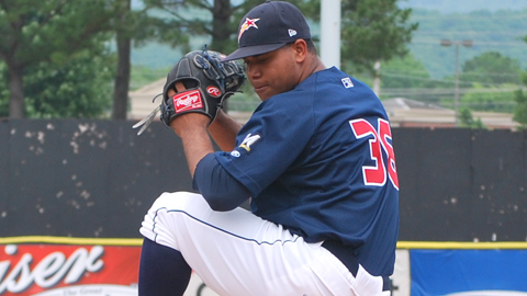 Wily Peralta was signed out of the Dominican Republic in November 2005.