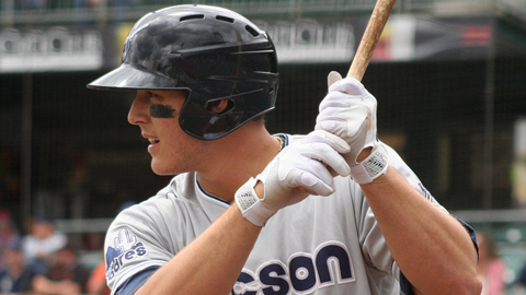 Tucson's Anthony Rizzo drove in 17 runs in seven games this week.