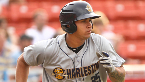 Gary Sanchez, who turns 19 in December, hit .210 in July for Charleston.