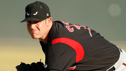 Nick Schmidt has allowed 25 hits in 34 1/3 innings for the Storm.