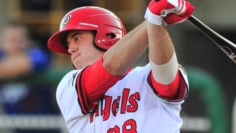C.J. Cron leads the Pioneer League with 13 homers and 41 RBIs.