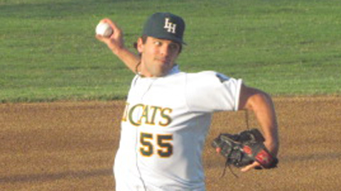 Gary Moran has not allowed an earned run in 14 innings with the Hillcats.