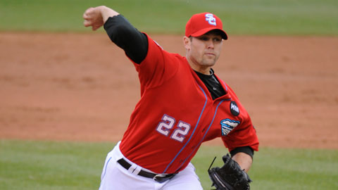 Craig Stammen allowed just one run in seven innings on Wednesday night.