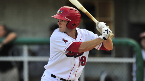Jerod Yakubik leads the Pioneer League with a .395 batting average in 43 games.