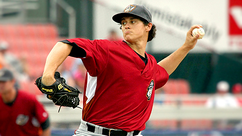 Jeff Locke went 7-8 with a 4.03 ERA in 23 outings at Double-A Altoona.