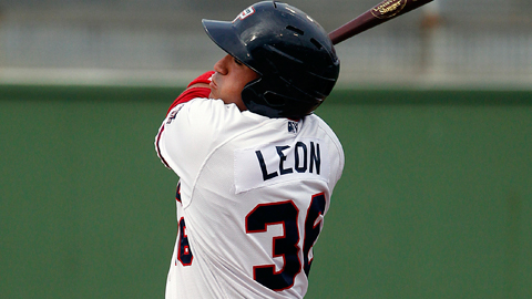 Sandy Leon has gunned down 53 of 103 would-be base-stealers this season.