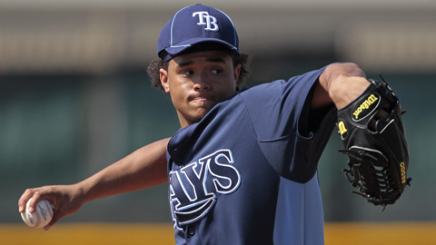 Right-hander Chris Archer has won four straight decisions for Montgomery.