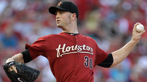 Left-hander J.A. Happ was 4-14 with a 6.26 ERA in 22 Major League starts.