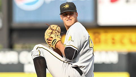 Due to an innings limit, Jameson Taillon hasn't gone deeper than five frames.