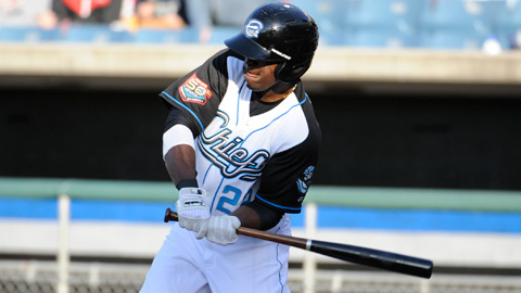 Roger Bernadina crushed a two-run homer in the loss Thursday.