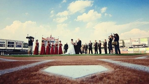 Brevard County will host a wedding for two fans who won a team contest.