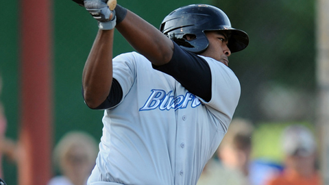 First baseman Art Charles leads Bluefield with 59 RBIs in 67 games.