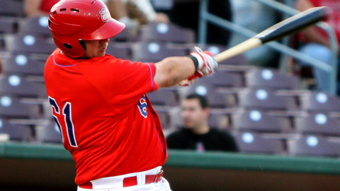 Casey Haerther's ninth inning RBI single propelled the Sixers to a 1-0 win