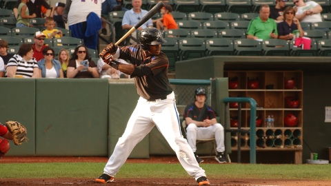 Mychal Givens (above) had three hits in Wednesday's loss to the Tri-City ValleyCats.