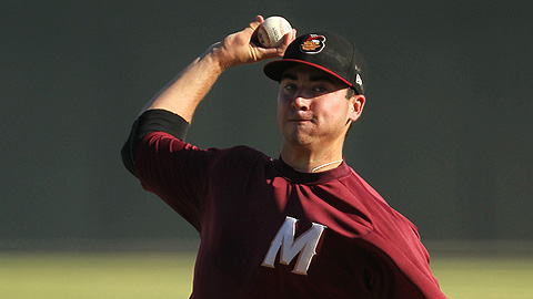 Modesto's Chad Bettis is among league leaders in several categories.