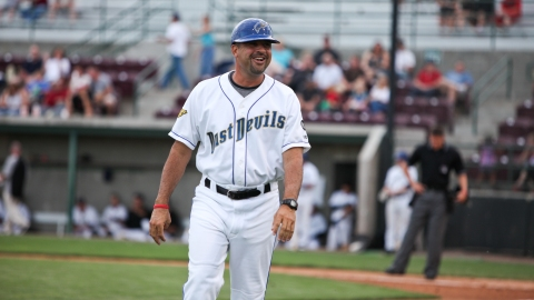 Freddie Ocasio named NWL Manager of the Year for second time in career.