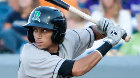 Billy Hamilton ranks second in the Midwest League with 152 hits.