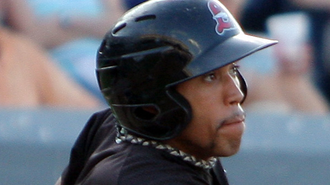 Brian Cavazos-Galvez also went yard twice against Birmingham on Aug. 10.