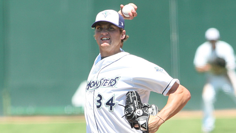 Seth Frankoff has pitched 19 1/3 scoreless innings in his last three starts.