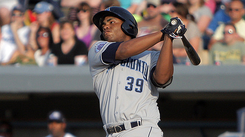 Jesus Aguilar hit .284 with 23 homers and 82 RBIs at two levels in 2011.
