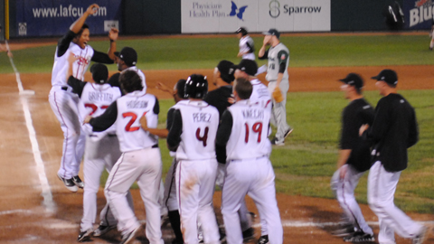 The Lugnuts will play the Quad Cities River Bandits in the Midwest League Finals.