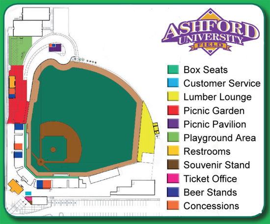 Ashford University Field, A To Z A Guide To Frequently Asked Questions  About The Ballpark