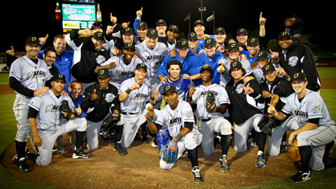 The Storm Chasers won six of seven postseason games.
