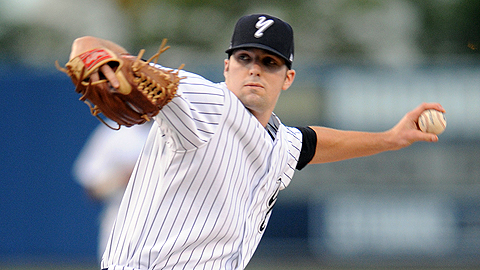 Staten Island lefty Matt Tracy pitched 12 scoreless innings in the playoffs.
