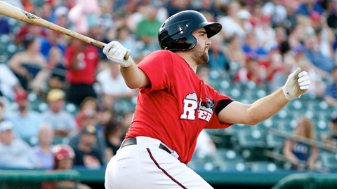 Tommy Mendonca hit .278 with 25 homers and 87 RBIs at Double-A.