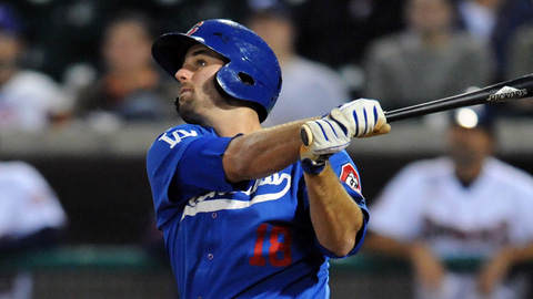 Scott Van Slyke won the Southern League batting title with a .348 average.